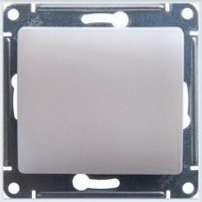 Выключатель 1-клавишный 10AX Glossa Перламутр GSL000611