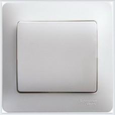 Выключатель 1-клавишный, 10АХ, в сборе Glossa Перламутр GSL000612