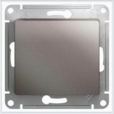 Выключатель 1-клавишный, механизм Glossa Платина GSL001211