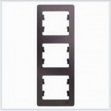 Рамка 3-ая, вертикальная Glossa Сиреневый туман GSL001407