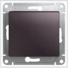 Выключатель 1-клавишный, механизм Glossa Сиреневый туман GSL001411