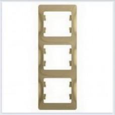 Рамка 3-я, вертикальная Glossa Титан GSL000407