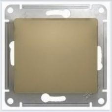 Выключатель 1-клавишный, сх.1 Glossa Титан GSL000411