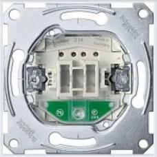 Merten Выключатель 1-клавишный 10A с подсветкой