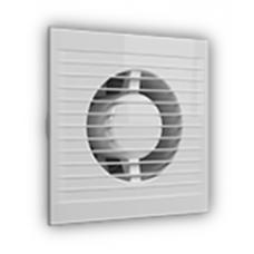 A 5S AT, Вентилятор осевой вытяжной c антимоскитной сеткой, режим проветривания и таймер D 125